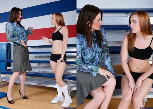 Raquel Devine, Dani Jensen - My First Sex Teacher - Hardcore Image Gallery