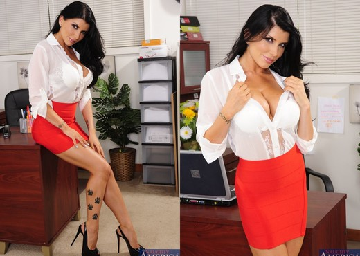 Romi Rain - Naughty Office - Hardcore Porn Gallery