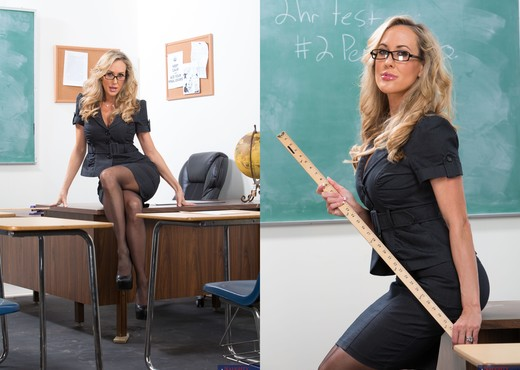 Brandi Love - My First Sex Teacher - MILF Hot Gallery