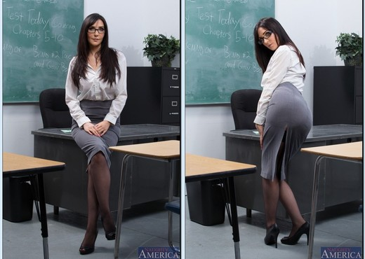 Diana Prince - My First Sex Teacher - Hardcore Sexy Photo Gallery