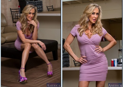 Brandi Love - Seduced By A Cougar - MILF Porn Gallery