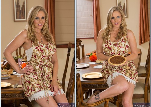 Julia Ann - My Dad's Hot Girlfriend - MILF Sexy Photo Gallery