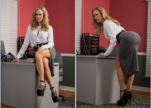 Brandi Love - Naughty Office - Hardcore TGP