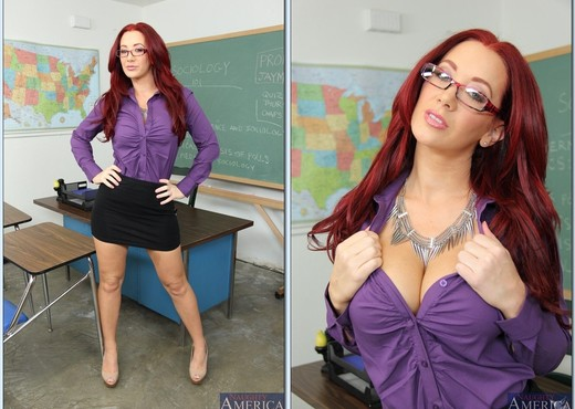 Jayden Jaymes - My First Sex Teacher - Hardcore Sexy Photo Gallery