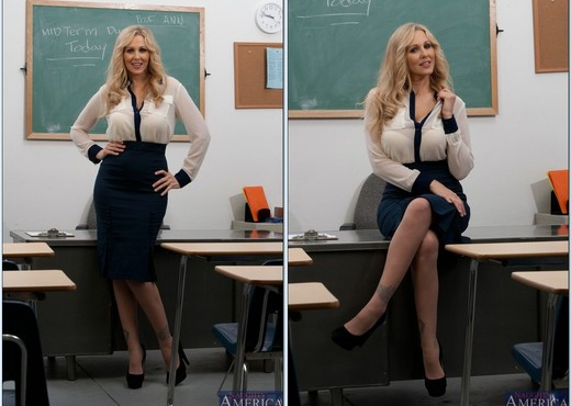 Julia Ann - My First Sex Teacher - MILF Sexy Gallery