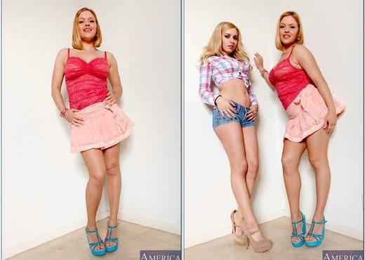 Lexi Belle, Krissy Lynn - 2 Chicks Same Time - Hardcore TGP
