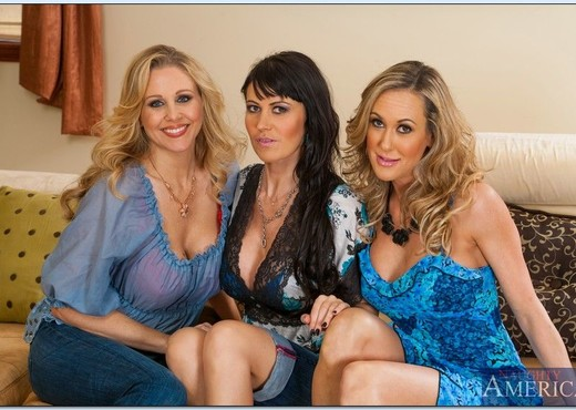 Julia Ann, Brandi Love, Eva Karera - My Friend's Hot Mom - MILF Nude Gallery