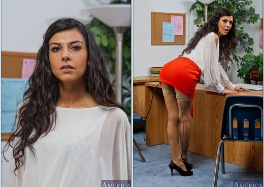 Lou Charmelle - Naughty Office - Hardcore TGP