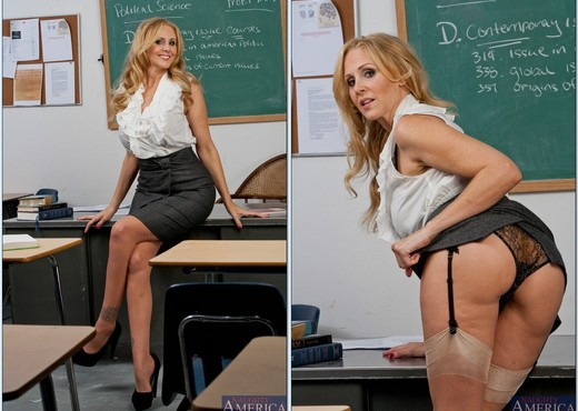Julia Ann - My First Sex Teacher - MILF Sexy Photo Gallery