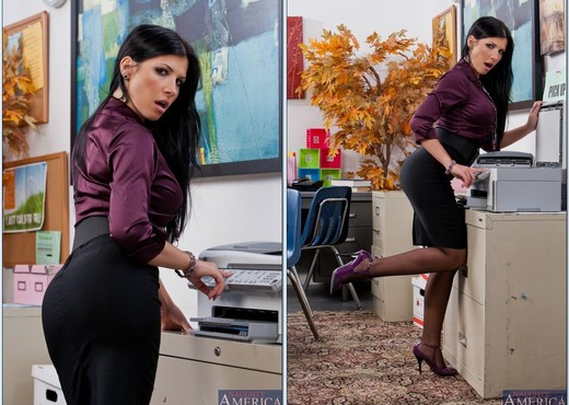 Rebeca Linares - Naughty Office - Hardcore Porn Gallery