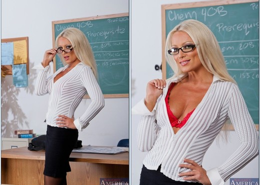 Diana Doll - My First Sex Teacher - MILF Nude Pics