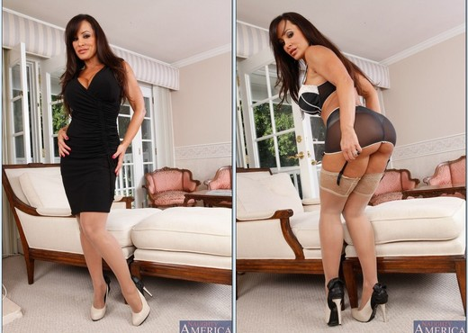 Lisa Ann - My Dad's Hot Girlfriend - MILF TGP