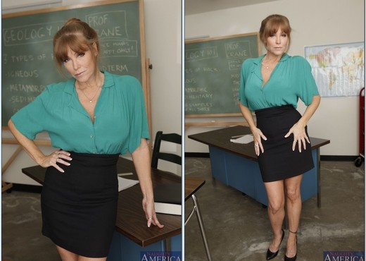 Darla Crane - My First Sex Teacher - MILF Picture Gallery