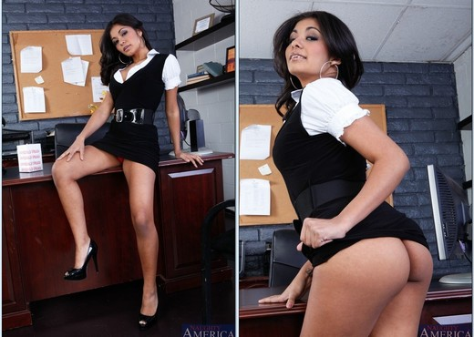 Ruby Rayes - Naughty Office - Hardcore Sexy Photo Gallery