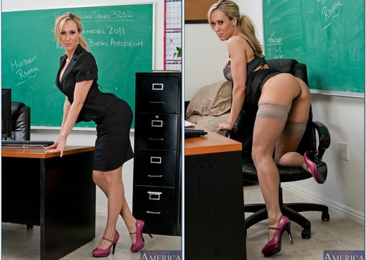 Brandi Love - My First Sex Teacher - MILF Image Gallery