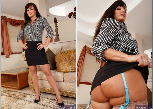 Lisa Ann - My First Sex Teacher - MILF Image Gallery