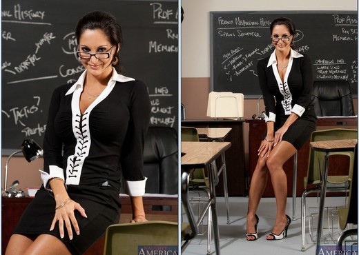 Ava Addams - My First Sex Teacher - MILF Nude Pics