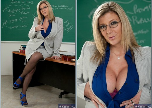 Sara Jay - My First Sex Teacher - MILF Porn Gallery
