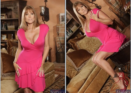 Mature adult model glamour