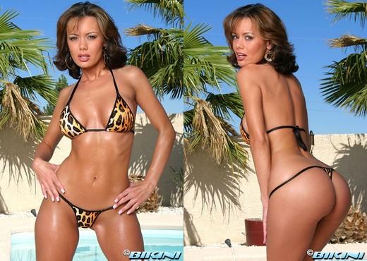 Crissy Moran - Black Mesh - Pornstars Nude Pics