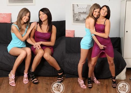 Inna, Megan - 21 Sextury - Lesbian Nude Pics