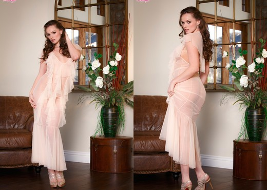 Tori Black Strips Her Hot Lingerie And Fingers Her Pussy - Pornstars Nude Gallery