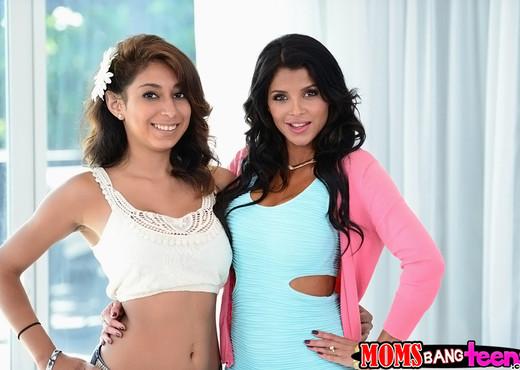 Bianka & Sarai - The Blow Show - Moms Bang Teens - Hardcore Nude Pics