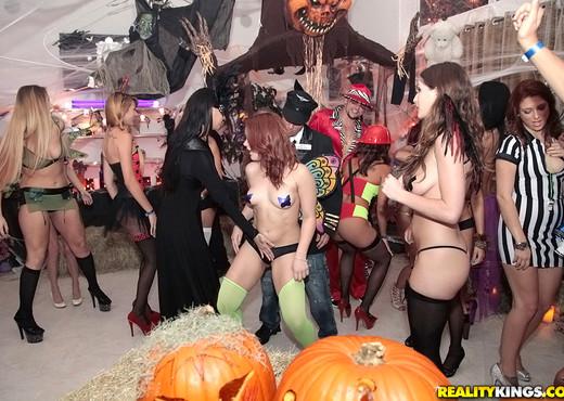 Sophia, Sabrina, Esmi Lee, Dylan - Happy Halloween - Hardcore Porn Gallery