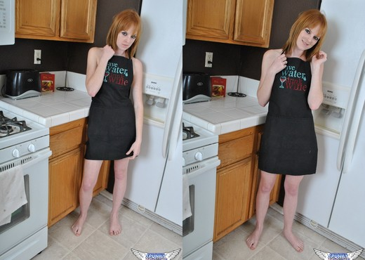 Kate Cooper - Baby Oil - SpunkyAngels - Solo Picture Gallery