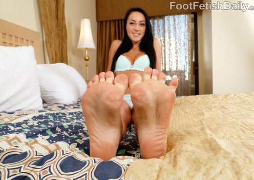 Sabrina Banks - Foot Fetish Daily - Hardcore Image Gallery