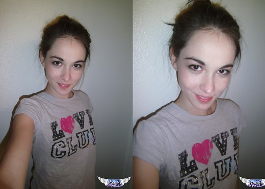 Emily - Selfshot Love Club - SpunkyAngels - Solo Sexy Photo Gallery