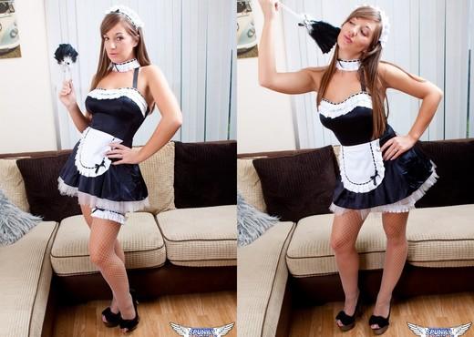 Cate Harrington - The Naughty Maid - SpunkyAngels - Solo Sexy Photo Gallery