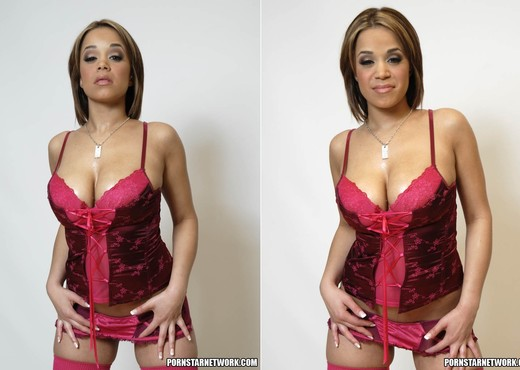Busty Latin Slut Chavon Taylor Shows Off The Twins - Latina Image Gallery
