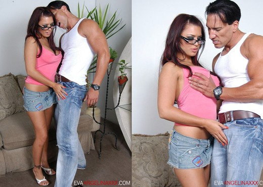 Marco Banderas Really Took Me To Town - Eva Angelina - Hardcore HD Gallery