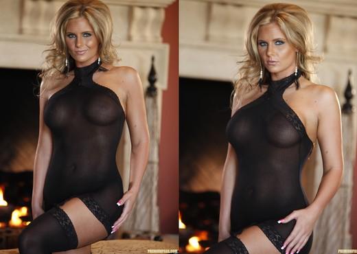 Phoenix Marie in a sexy see-through dress - Pornstars HD Gallery