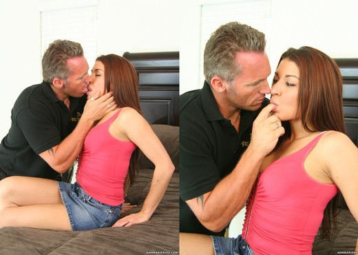 Ann Marie Rios Gets Cum After Fucking Like a Pornstar - Hardcore Image Gallery