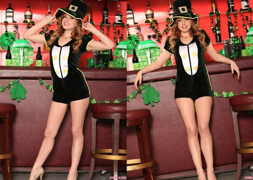 Lexi Belle - Livening Up the St Patrick's Day Party - Pornstars Nude Pics