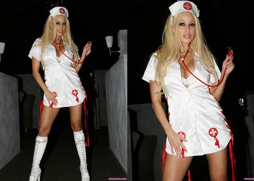 Gina Lynn, Naughty Nurse and Private Dancer - Pornstars Image Gallery