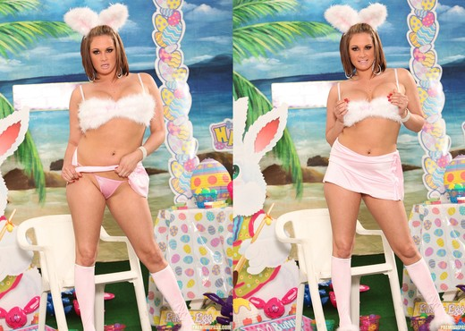 Tory Lane is the Curviest Easter Bunny - Solo Nude Gallery