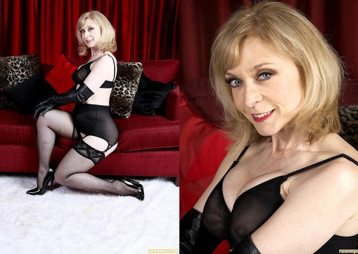 Nina Hartley - Black and Red - MILF Porn Gallery