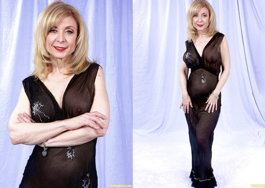 Nina Hartley and the Transparent Black Dress - MILF Sexy Gallery