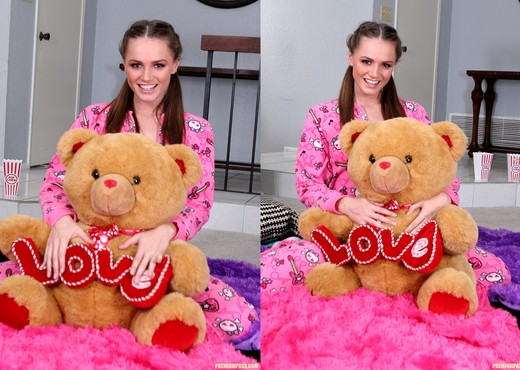 Tori Black - Waiting in my Pajamas - Solo Porn Gallery