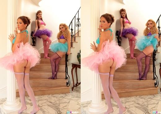 Jenna Haze, Faye Reagan, Lexi Belle - Ballerina Ballers - Pornstars Nude Gallery