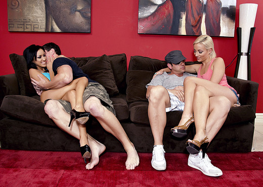 Group Sex with Lexi Swallow and Breanne Benson - Hardcore HD Gallery