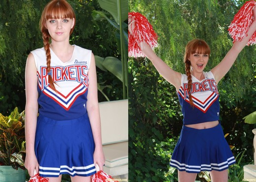 Marie McCray in a Cheering Uniform - Pornstars Picture Gallery