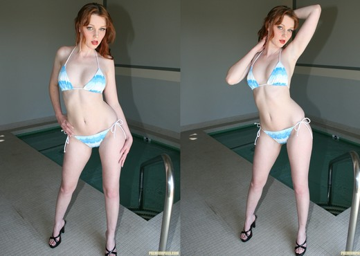 Marie McCray - Pussy Play at the Public Pool - Pornstars Image Gallery