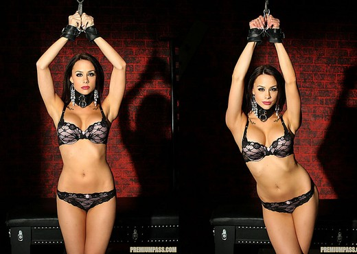 Chanel Preston - Kinky Bondage and Clamps, Baby - BDSM Porn Gallery