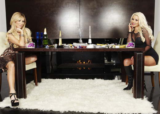 Tasha Reign and Spencer Scott for Dinner - Lesbian HD Gallery