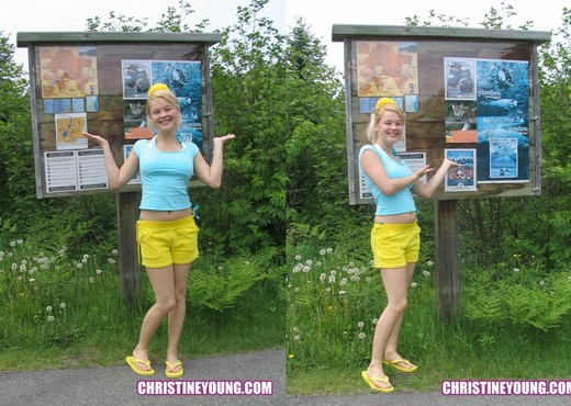 Christine Young - Teen Nude Pics