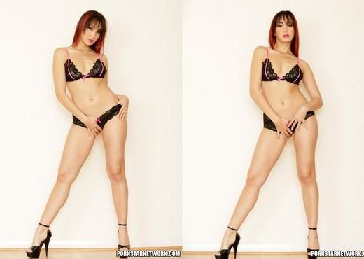 Redhead Asian Hottie Katsuni Poses For The Camera - Asian Nude Gallery